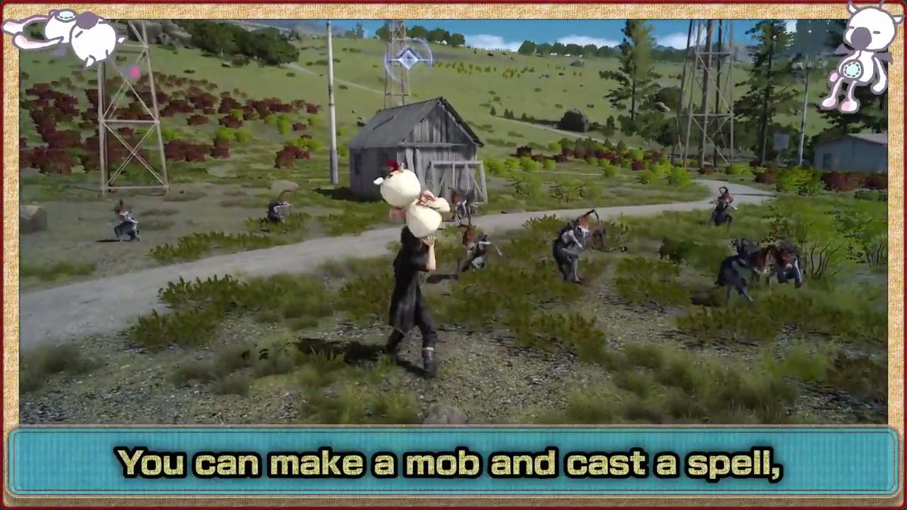 Here s How Moogle Decoys Work Final Fantasy XV PlayStation 4 www  GameInformer com  Here. You Here39s How Stop   creatopliste com