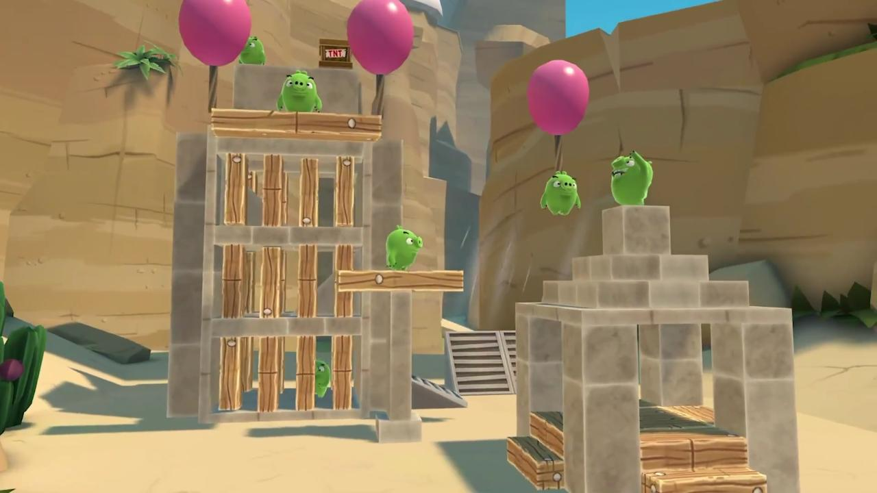 Angry Birds VR: Isle Of Pigs Review – Satisfactory Virtual