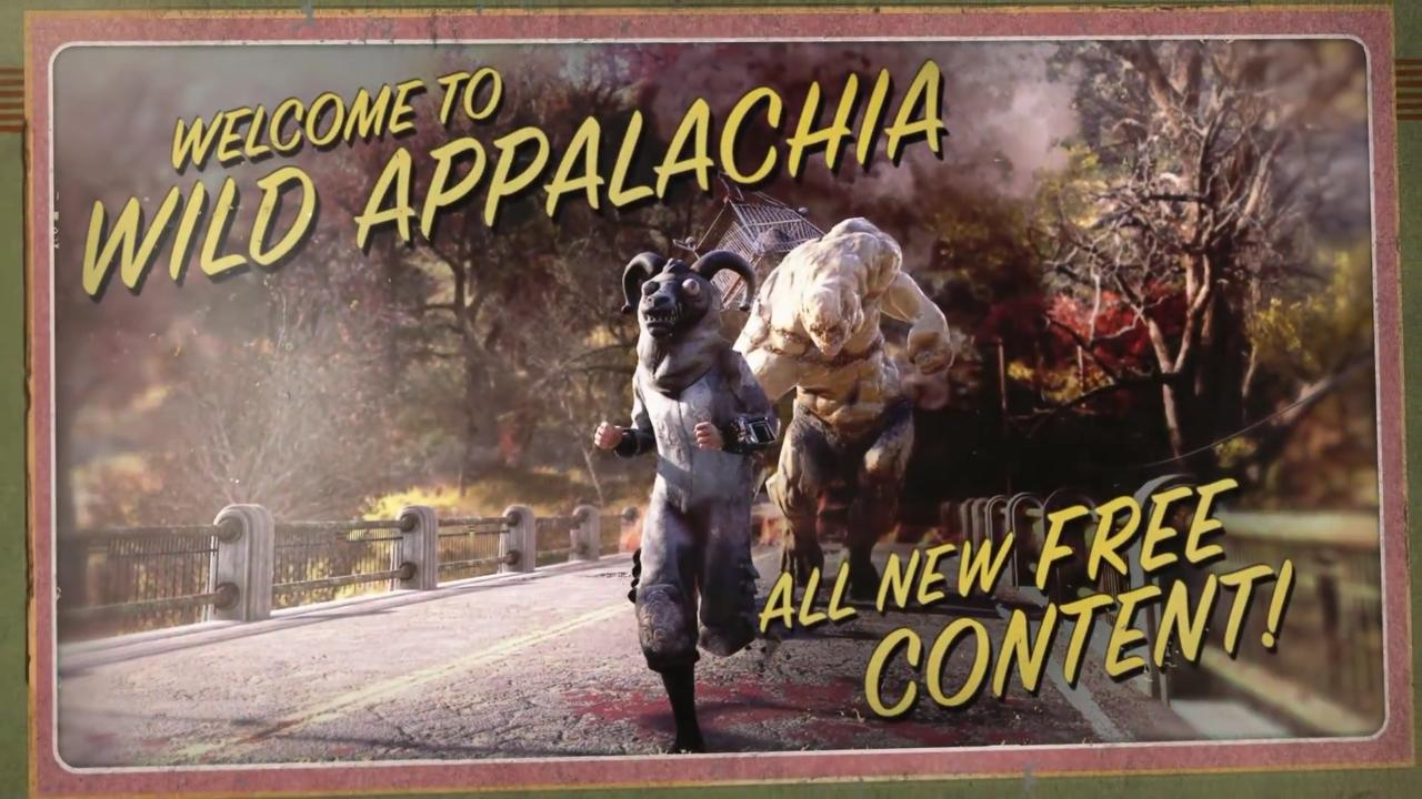Free Wild Appalachia Update Adds New Content To Fallout 76