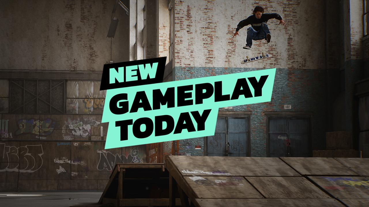 Tony Hawk S Pro Skater 1 2 Warehouse Demo New Gameplay Today Game Informer