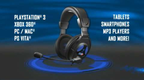PlayStation 4 PlayStation 3 Xbox 360 Universal Ear Force PX22 Wired