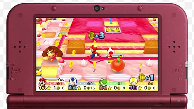 mario party star rush 3ds rom download