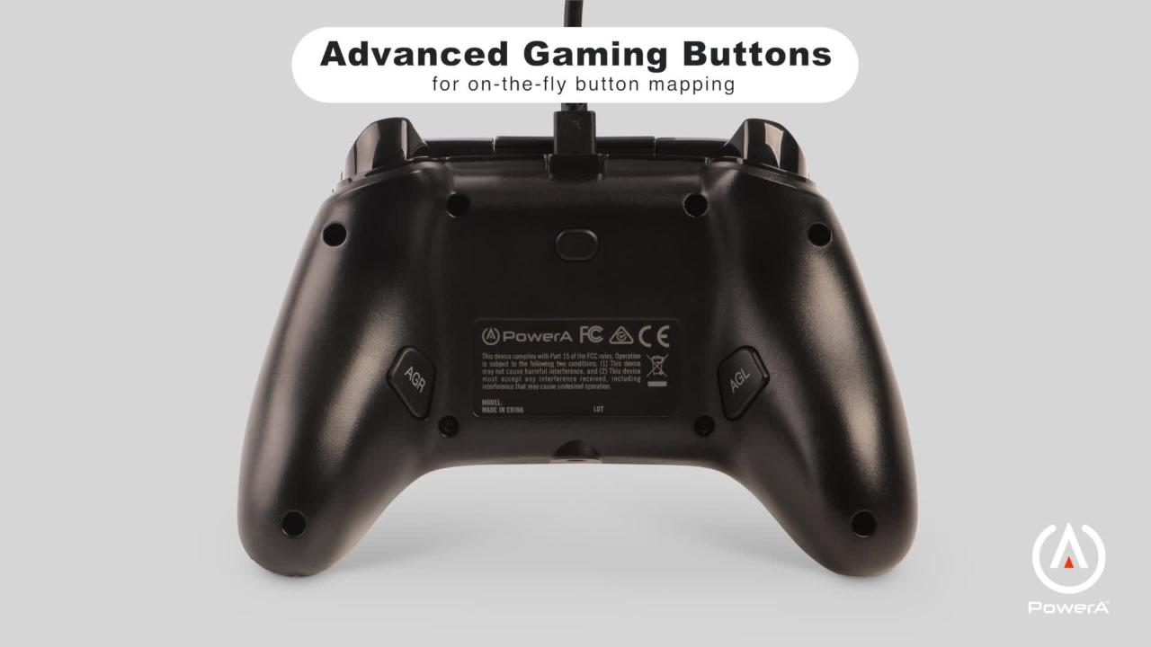 PowerA Enhanced Wired Controller for Xbox One - Black | Xbox One | on