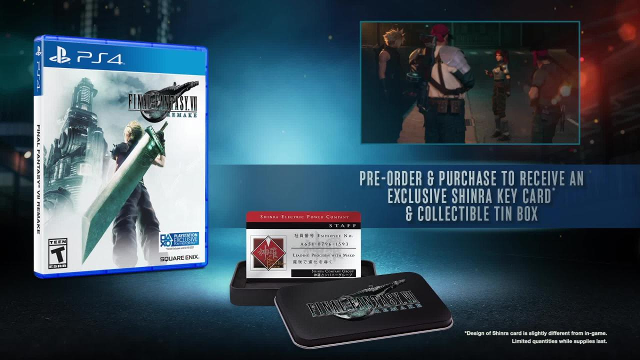 FINAL FANTASY VII Remake Deluxe Edition | PlayStation 4 | GameStop